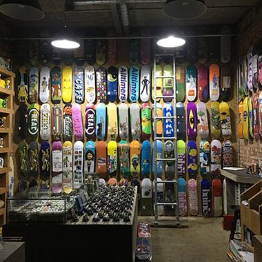 Beats Working Skate Board Wall
